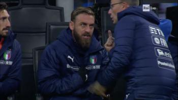 GAFA URIASA a lui De Rossi! Scandal monstru cu secundul Italiei pe marginea terenului, iar apoi n-a mai intrat pe teren! VIDEO