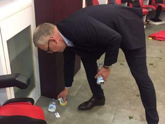 """Selectionerul Suediei a facut curat in vestiar dupa calificarea la Cupa Mondiala: """"E un simplu gest, de clasa!"""" FOTO"""
