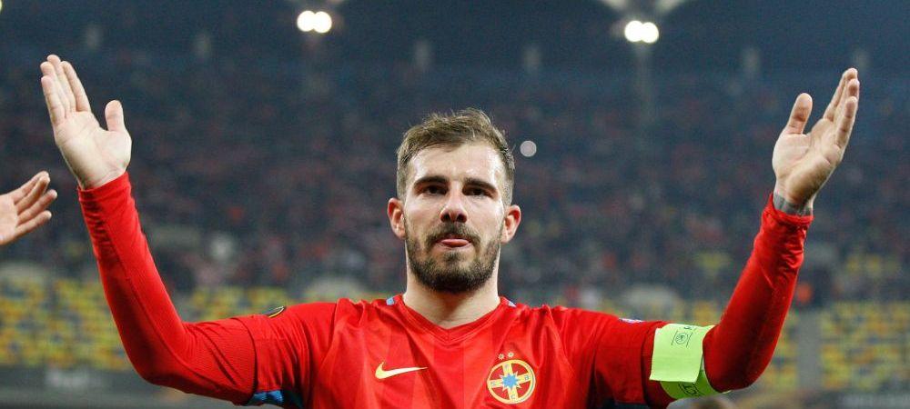 PANICA la Steaua! Balasa s-a accidentat la incalzire si nu a mai putut intra cu Olanda
