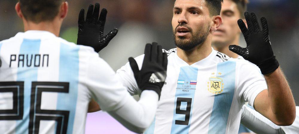 Kun Aguero a fost dus de urgenta la spital la pauza meciului cu Nigeria! Ce a patit atacantul