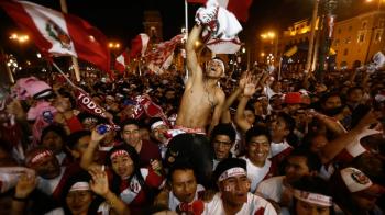 Alarma de cutremur dupa calificarea la Mondial! Ce au facut fanii din Peru la golul lui Farfan