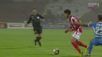 Penalty inventat sau ochi de vultur pentru Coltescu?! Ce s-a intamplat la faza dupa care Dinamo - Iasi a luat-o razna
