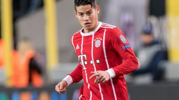 """""""Nici nu stia cat e scorul!"""" James Rodriguez, aproape de o tragedie la partida Gladbach - Bayern! Ce a patit fostul jucator al lui Real"""