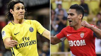 Duelul BOMBARDIERILOR Falcao si Cavani! Mbappe revine la Monaco in marele derby al Frantei