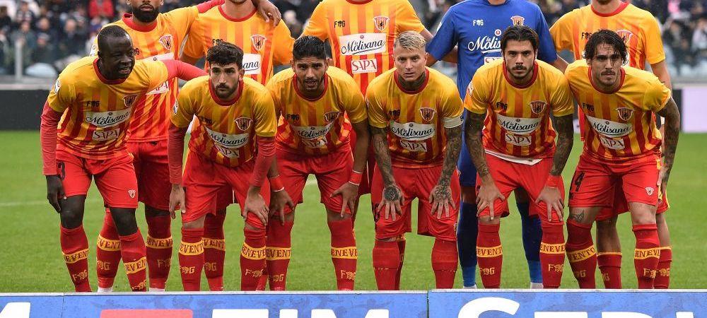 """Cea mai slaba echipa din Europa isi continua parcursul """"fara greseala"""". Cu Puscas pe teren, Benevento a pierdut iar. Cifrele incredibile la primul sezon de Serie A"""