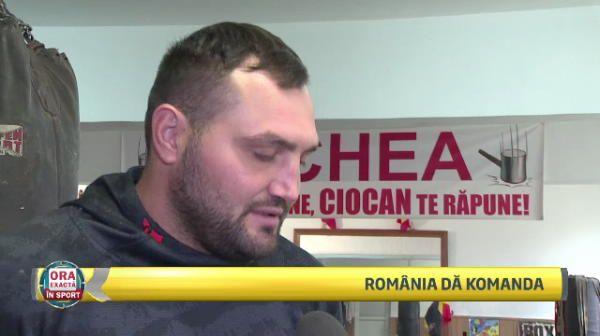 Romanii dau cu pumnul in SUPER MECIURI! VIN CENTURILE. Anuntul lui Ciocan inaintea meciului care il poate impinge spre titlul mondial