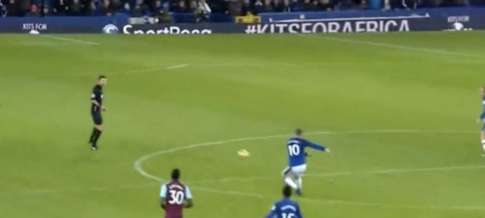 """VIDEO! Rooney a reusit o noua nebunie in Premier League: gol din propria jumatate de teren: """"E poate cel mai frumos gol din cariera mea!"""""""