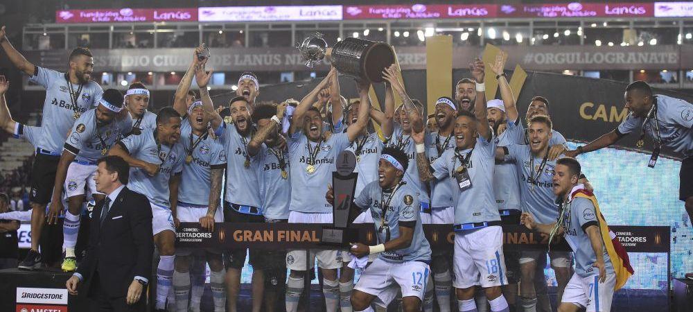 Nebunie in Brazilia! Gremio Porto Alegre a castigat Copa Libertadores pentru prima data dupa 22 de ani! VIDEO