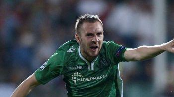 A dat cu sete! Moti a marcat un supergol pentru Ludogorets, dar echipa sa a pierdut surprinzator in deplasare