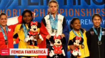 Femeia cu brate de fier e din Romania! Loredana Toma a castigat 3 medalii de AUR la mondialul de haltere