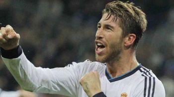 RECORD NEGATIV pentru Sergio Ramos: este jucatorul cu cele mai multe eliminari din istoria campionatului spaniol