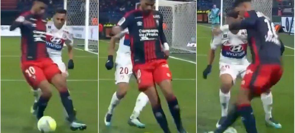 """""""Ronaldinho reincarnat!"""" Dribling monumental reusit de un jucator din Ligue 1! Cum si-a ridiculizat adversarul"""
