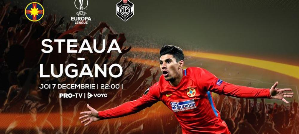 Lugano, victorie azi intr-un meci greu de campionat! Joi e FCSB - Lugano la PRO TV, meci decisiv pentru primul loc in Europa