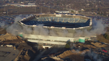Americanii au incercat sa demoleze un stadion legendar, insa acesta nu a cazut! Hagi a marcat un gol fabulos pe Silverdome