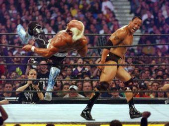 SE ANUNTA O NOUA CONFRUNTARE ISTORICA! Hulk Hogan vrea revansa cu The Rock dupa aproape 20 de ani