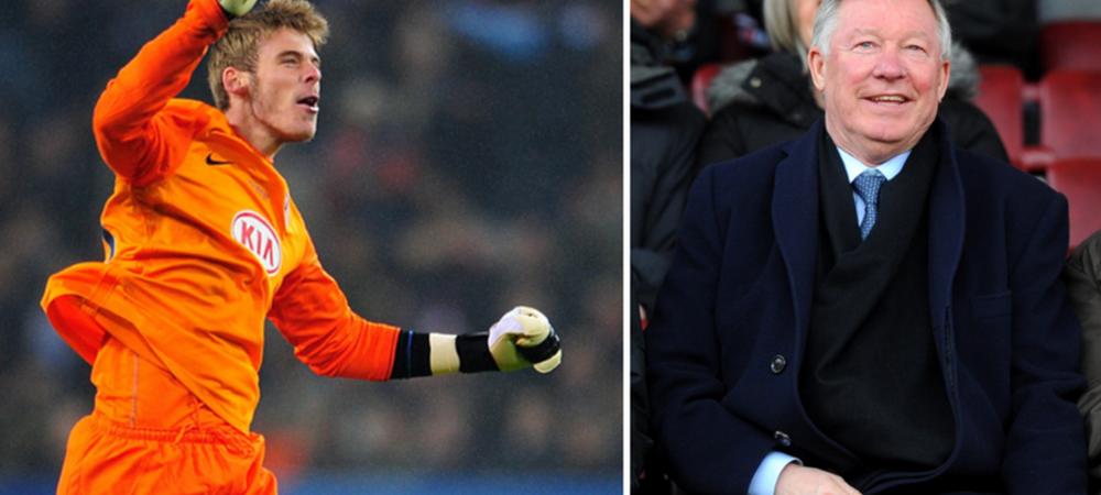 Ce a facut Ferguson ca sa-l transfere pe De Gea la Manchester United! Spaniolul, considerat cel mai bun portar din LUME la ora actuala!