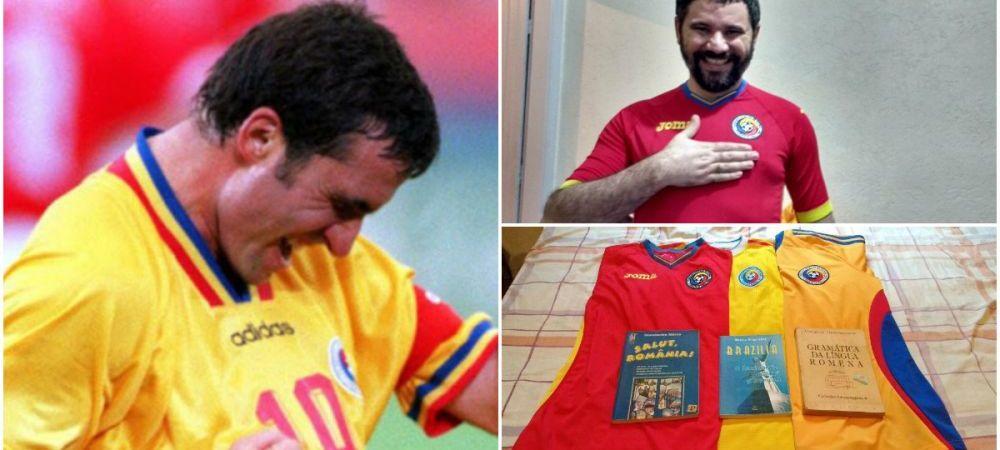 S-a nascut in tara lui Pele, Zico si Romario, dar il iubeste pe Hagi. Povestea brazilianului indragostit de Romania '98 si de fotbalul din Liga I