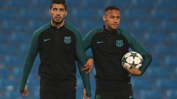 """""""Ce faci daca prietenul Neymar semneaza cu Real Madrid?"""" Raspunsul dat de Luis Suarez despre posibilul transfer al brazilianului la marea rivala"""