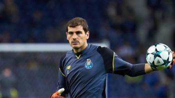 Casillas poate ajunge in Premier League dupa ce si-a pierdut postul de titular in poarta lui Porto