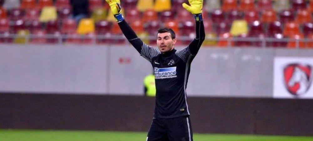 Nita, aplauze la scena deschisa in pauza meciului cu Lugano! Gestul facut de portarul lasat pe banca de Dica