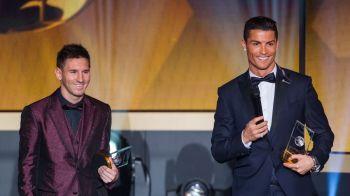 Provocarea lansata de Ronaldo lui Messi, in ziua in care l-a egalat la numarul de Baloane de Aur castigate! Ce mesaj i-a transmis