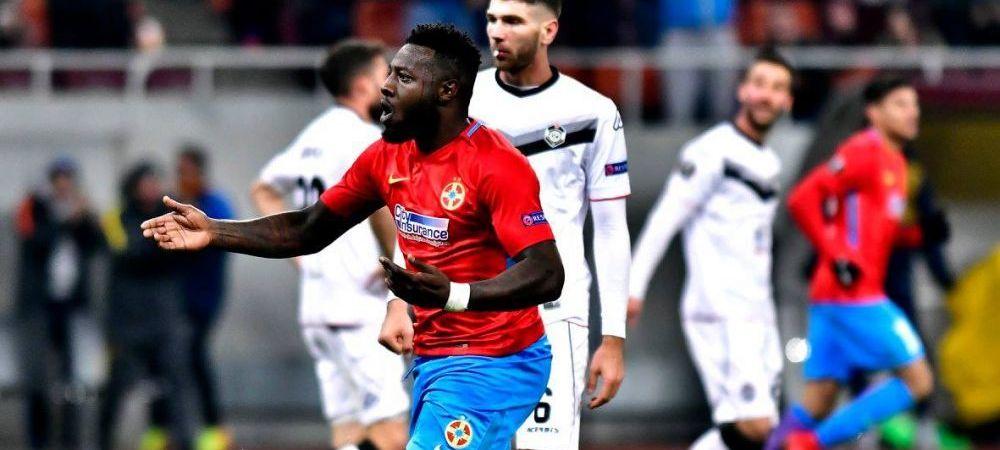 "Raspunsul lui Gnohere cand a fost intrebat daca va pleca ""la mai bine"" in iarna de la Steaua"