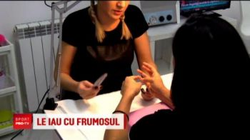 Tigroaicele de la CSM, vizita la salonul de cosmetica inaintea duelului cu rusoaicele care domina Liga Campionilor