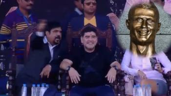 A ras degeaba de Ronaldo! Statuia lui arata chiar mai rau :)) Cum arata bustul pe care i l-au facut indienii lui Maradona