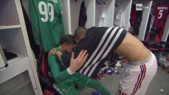 """""""Rabdarea s-a terminat, nenorocitule"""". Imagini incredibile: Donnarumma a plans in vestiar, fanii Milanului il alunga de pe San Siro"""