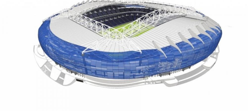 Vor stadion de 55 de MILIOANE de euro! Inca o BIJUTERIE in Liga 1. Unde se construieste