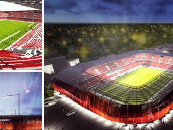 Dinamovistii au aflat cum va arata noul stadion de 40 de milioane FARA PISTA! Capacitate 25.000 locuri si acoperis!