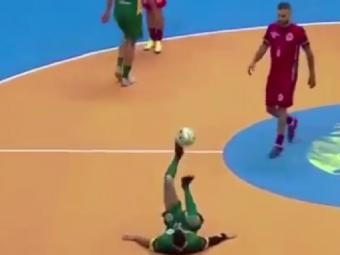 IREAL: Cel mai nebun gol dat vreodata in sala! Ce a reusit brazilianul Falcao VIDEO