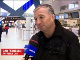 "CFR e lider in Liga 1, Dan Petrescu pune presiune pe Dica: ""Ar fi o minune daca terminam campionatul inaintea stelistilor!"""