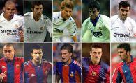 Hagi, in topul jucatorilor care au jucat atat la Real cat si la Barca! E in echipa selecta cu Figo, Ronaldo sau Luis Enrique