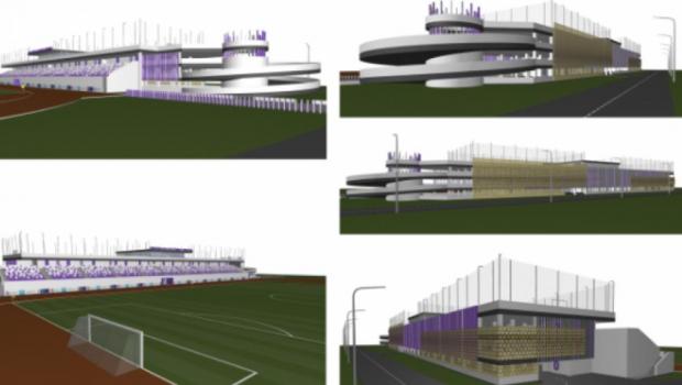 Proiect fabulos intr-un oras important al Romaniei: stadion de 5 stele, cu terenuri de fotbal PE TRIBUNE. Unde se va construi