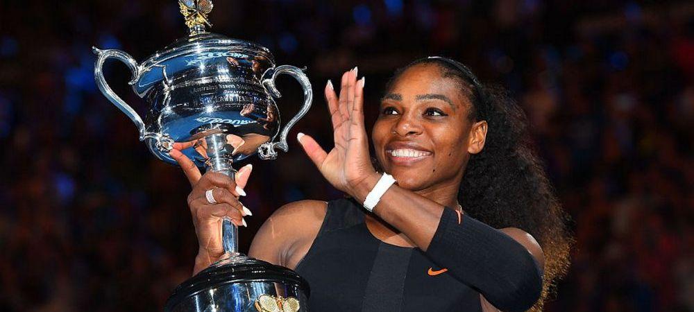 Serena Williams si-a anuntat primul meci dupa aproape un an: o va intalni pe detinatoarea trofeului de la Roland Garros