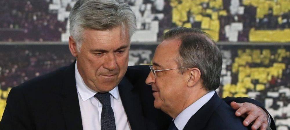 """Perez, ca Becali! Ancelotti dezvaluie de ce a plecat de la Real: """"L-am inlocuit pe Bale, apoi a sunat telefonul"""" Ce i-a spus presedintele"""