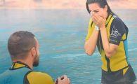 Cel mai frumos Craciun pentru un jucator din Liga I! Si-a cerut iubita in casatorie la Dubai. FOTO