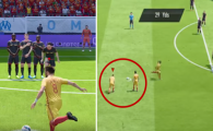 Cum sa dai gol din lovitura libera la FIFA! Un YouTuber explica cea mai simpla metoda