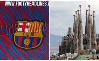 Tricourile Barcelonei pentru sezonul viitor, inspirate din faimoasa Sagrada Familia! Cum vor arata tricourile lui Messi si Suarez