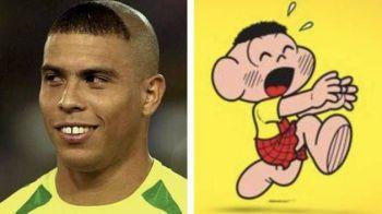 "La 15 ani distanta, Ronaldo a vorbit despre faimoasa freza de la Mondial: ""De fiecare data cand vedeam un copil tuns asa eram DEZAMAGIT"""