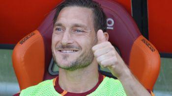 """Totti a fost intrebat cine este cel mai bun fotbalist din lume: """"Va zic, dar sa nu le ziceti si celorlalti"""" :)"""