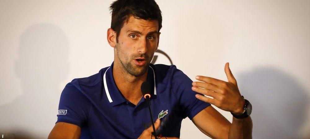 Vestea finalului de an: Djokovic revine pe teren dupa aproape sase luni de pauza