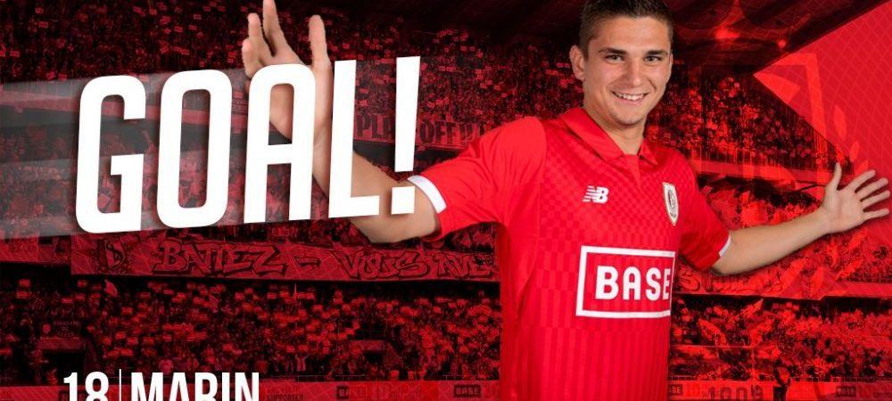 Razvan Marin trece prin momente fantastice in Belgia! Este in echipa etape dupa ultimul gol pentru Standard
