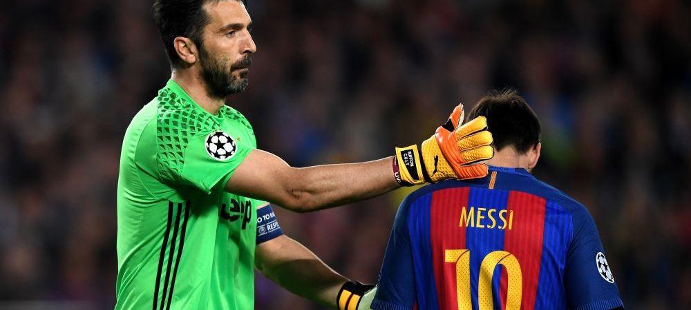 """Kane, laudat de Buffon: """"Asa ceva nu se antreneaza, cu asta te nasti!"""" Messi nu a fost inclus in top de portarul lui Juventus"""