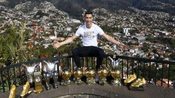 King of the world! Ronaldo si-a prezentat toate trofeele individuale: fotografie pentru istoria fotbalului | FOTO