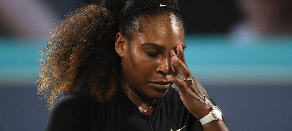 Serena Williams s-a retras de la Australian Open