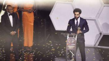 Salah a adus bucuria fotbalului in Egipt dupa 35 de ani! Starul lui Liverpool a primit trofeul pentru cel mai bun jucator african al anului