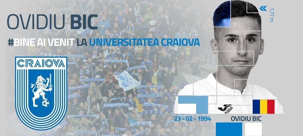 OFICIAL | Craiova a anuntat si ea primul transfer pe 2018! Oltenii si-au luat mijlocas din Liga I cu 200.000 euro
