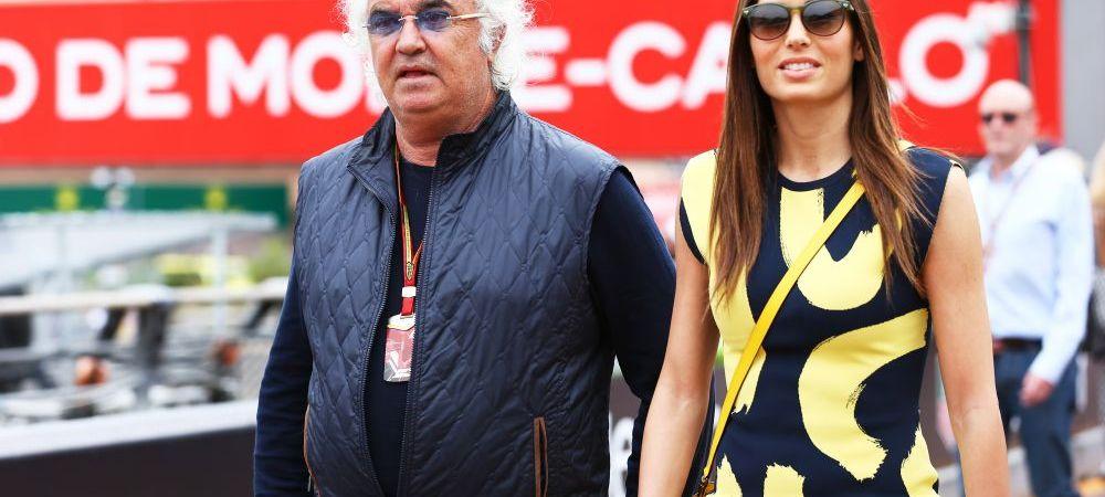 Ce-a avut si ce-a pierdut! Frumoasa Elisabetta Gregoraci i-a inmanat actele de divort miliardarului Flavio Briatore. GALERIE FOTO